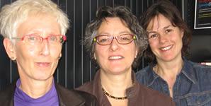 Auteurs COCP: Margriet Heim, Vera Jonker en Marjan Veen
